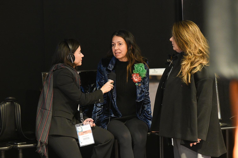 Delphine Souquet interviews Alessandra Cappiello at Altaroma Fashion Week