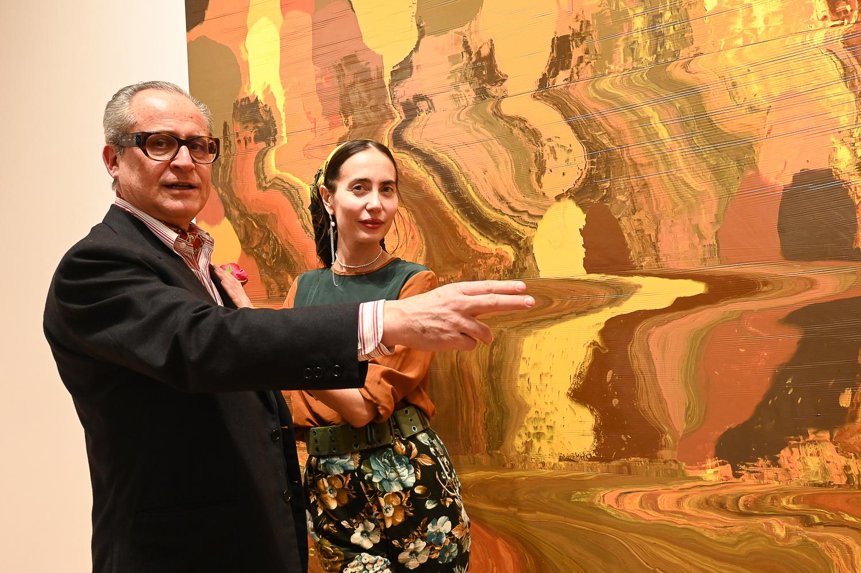 Saverio Ferragina, Camilla Alibrandi Maturation exhibition