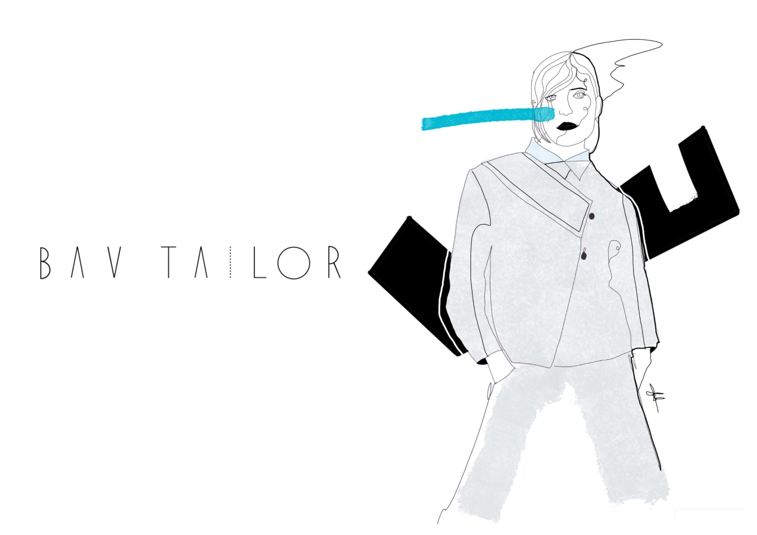 Bav Tailor SS21 Illustration by GabrieleMelodia
