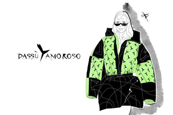 DassùYAmoroso No Gender illustrated by Gabriele Melodia