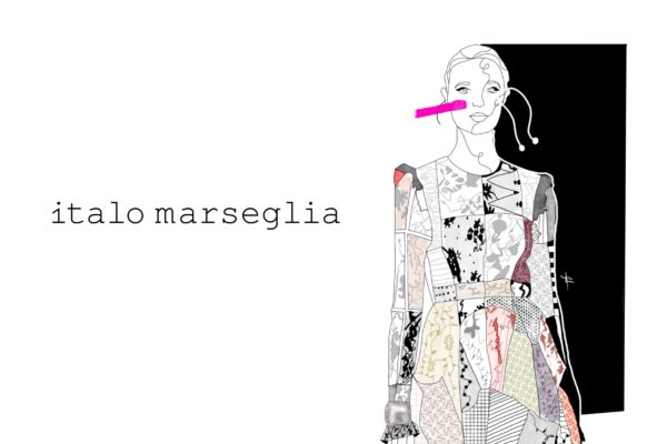 Italo Marseglia patchwork illustrated by Gabriele Melodia