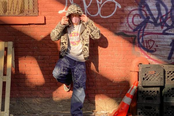 Jonas King Portray wearing 2FIFTY Custom Clothing