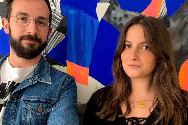 Michael Le Goff et Camille Cohen fondateurs Cohle galerie d'art urbain
