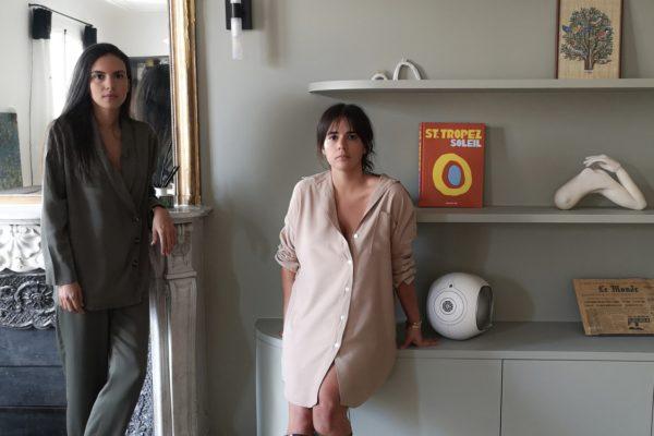 Portraits de Julia Helissey et Eugenie Faure fondatrices de Quartier Libre Paris