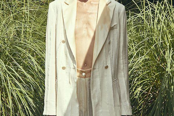 Edoardo Gallorini Designer Venezia chic tailleur in white